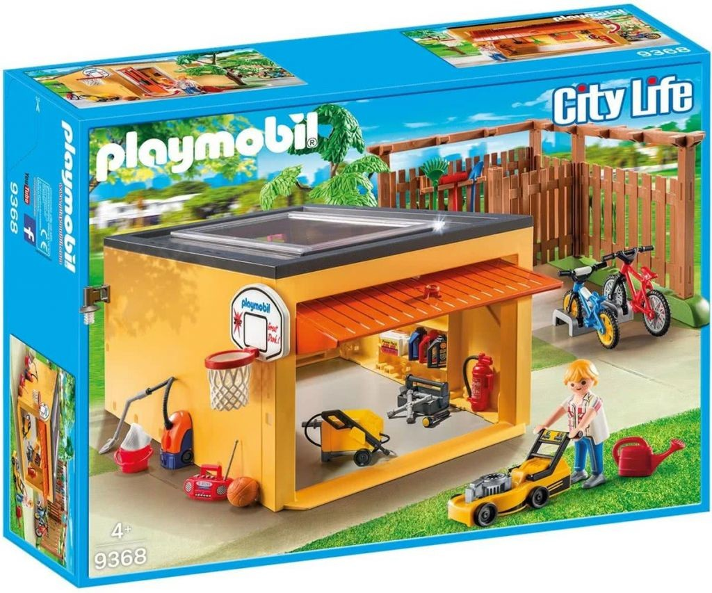 Garage with Bicycle Parking - Playmobil Houses and Furniture ...