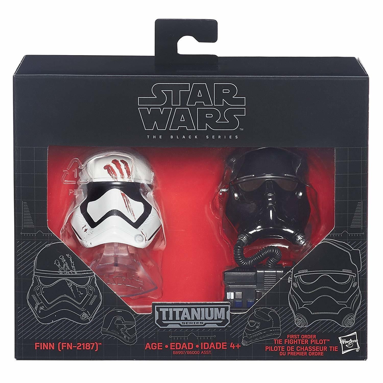 Star Wars Black Series 6 Titane Casques Imperial Death Trooper Rebel Commando