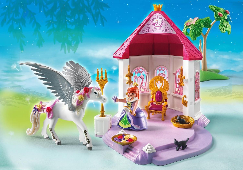 Princess Pavilion with Pegasus - Playmobil Princess 5985