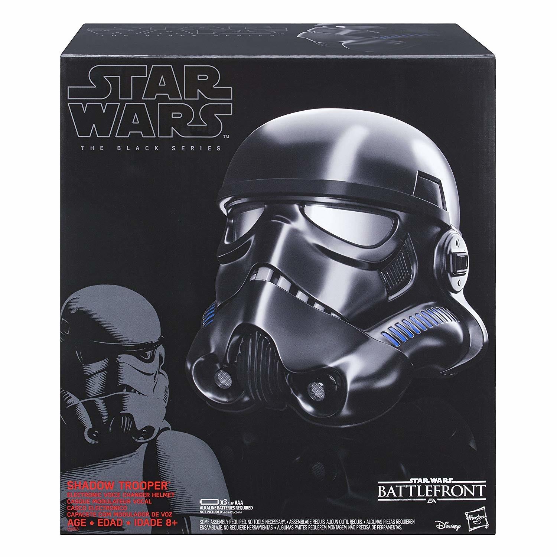Shadow Trooper Electronic Voice Changer Helmet - Black Series