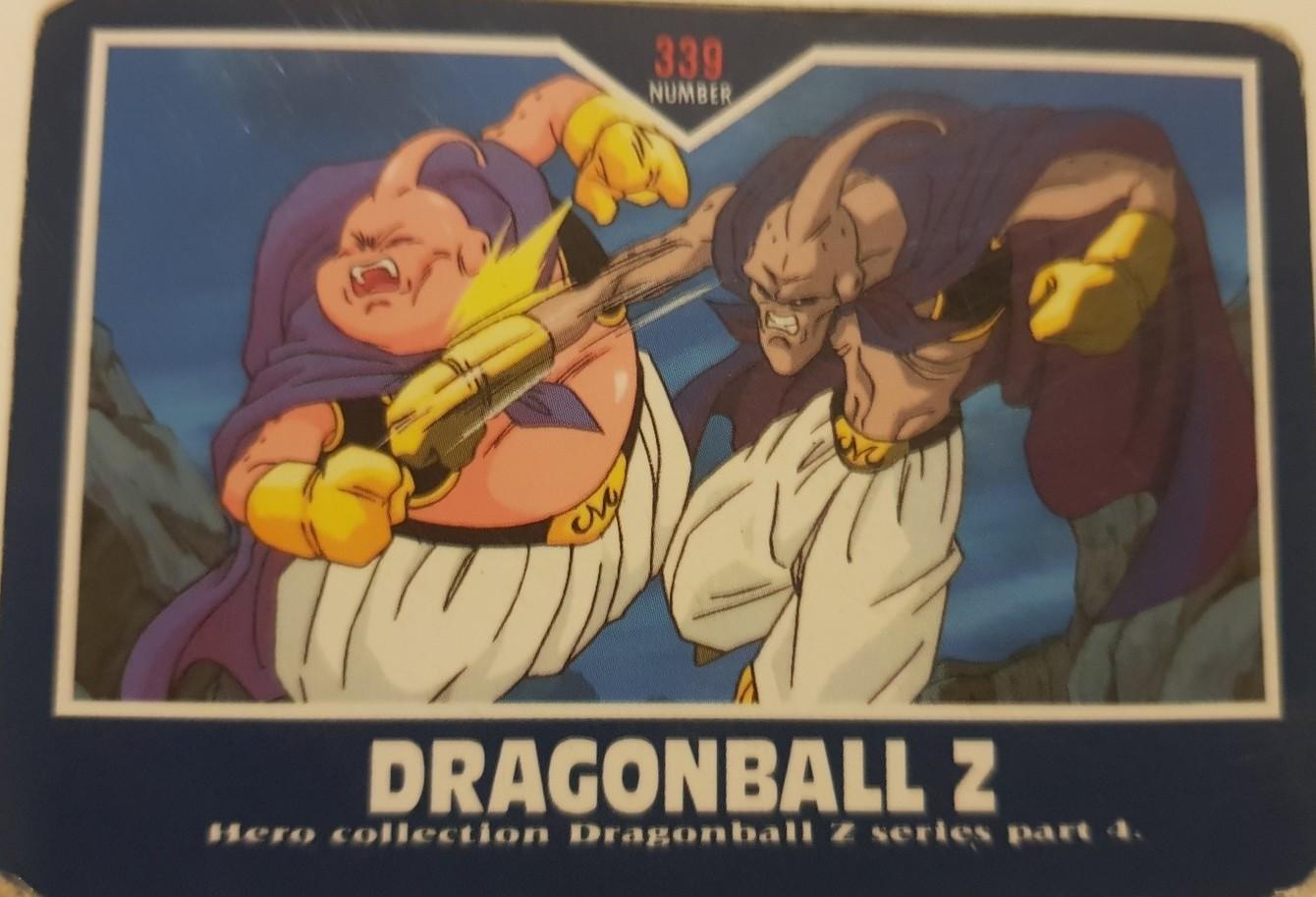 Dragon Ball Z Hero Collection 341