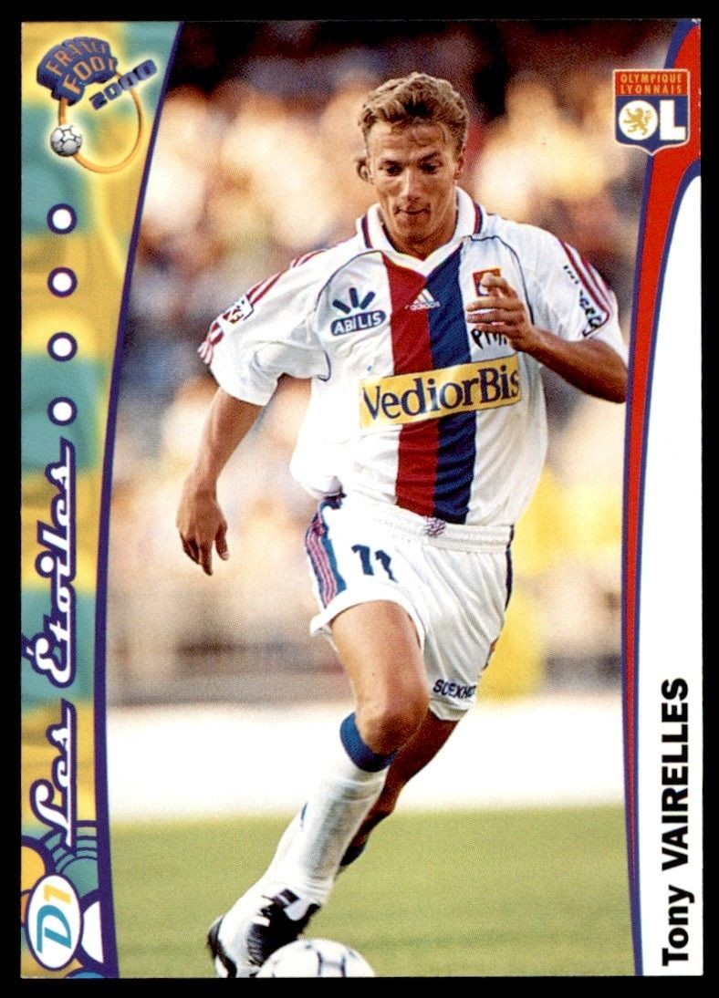 Marseille N°088 Willians Gallas Carte France  Foot 2000