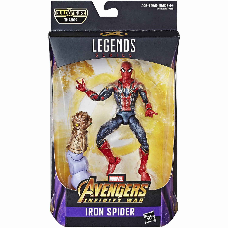 Marvel Legends Avengers Spiderman Iron Spider Captain America Die Cast Helmet