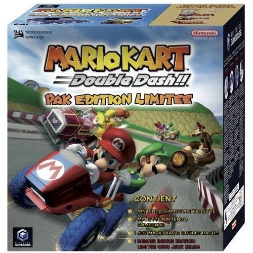 Pack Gamecube Mario Kart 5 Zelda Games Nintendo Gamecube