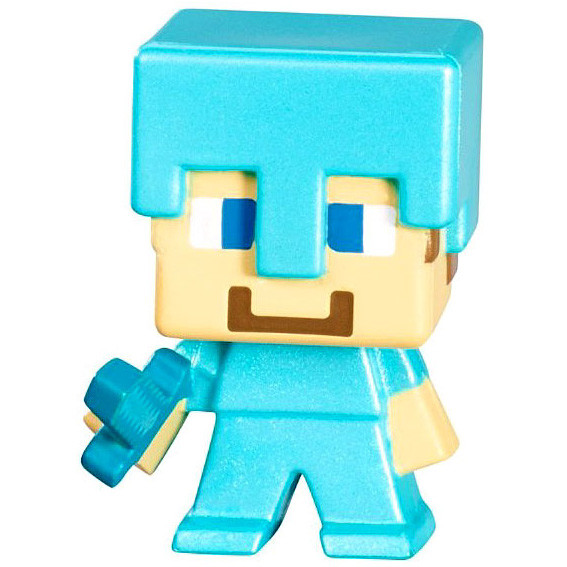 Steve Diamond Armor Minecraft Mini Figures Series 3