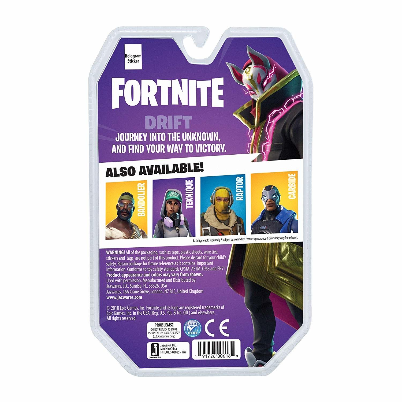 "Fortnite Teknique Solo Mode Core Action 4/"" Figure Toy Jazwares Prototype"