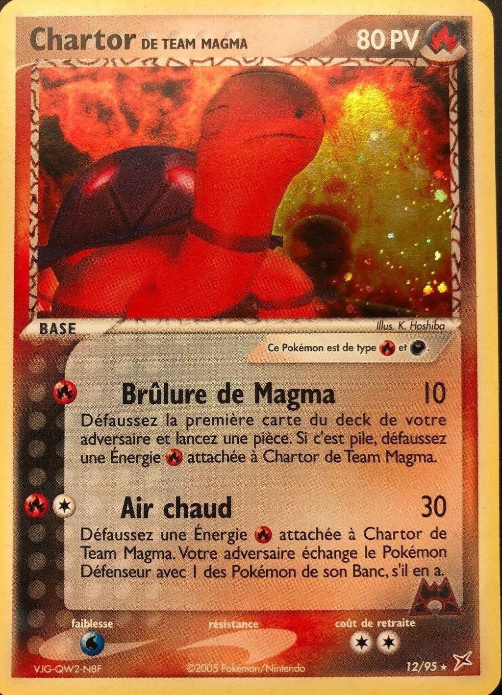 CARTE POKEMON Chimpenfeu 80pv Holo Revers