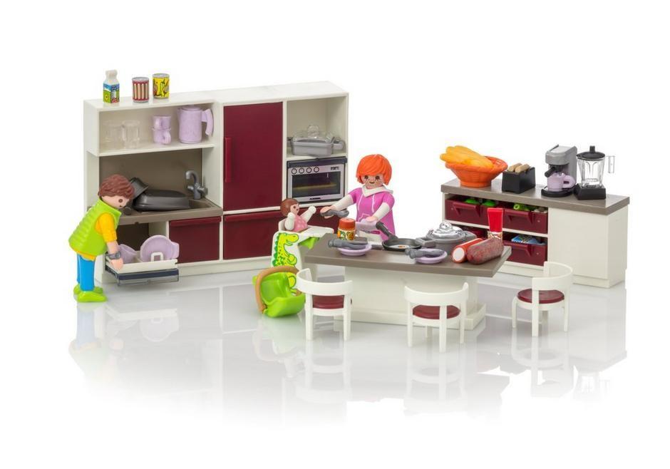 Cuisine Amenagee Playmobil Maisons Et Interieurs 9269