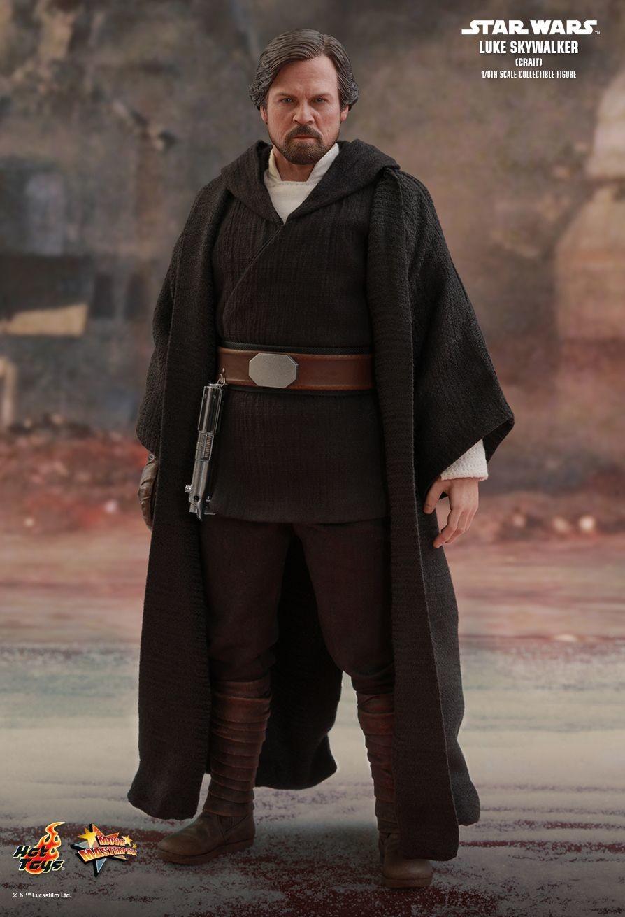 Star Wars The Last Jedi Luke Skywalker Crait Movie Masterpiece Series Action Figure Mms507