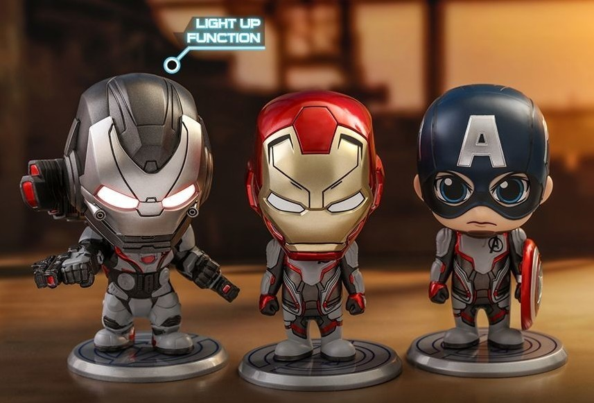 Hot Toys Captain Marvel COSBABY Mini Collections Set COSB546 Movbi Figure ToyS
