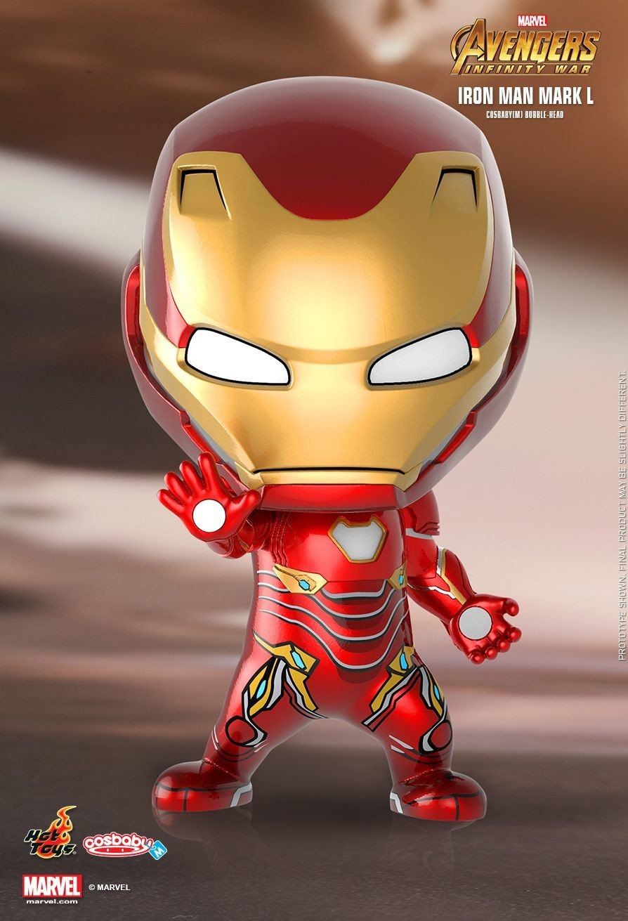 Avengers: Infinity War - Iron Man Mark L - Cosbaby Figures action