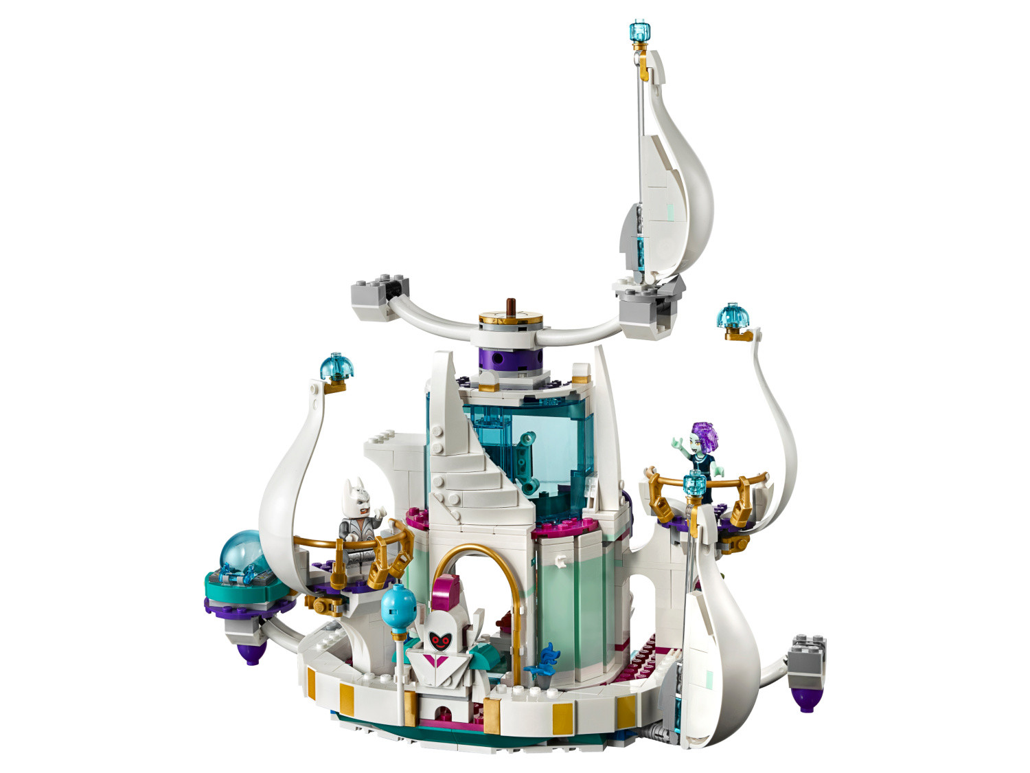 LEGO The Movie 2 Queen Watevra/'s So-Not-Evil Space Palace Set 70838