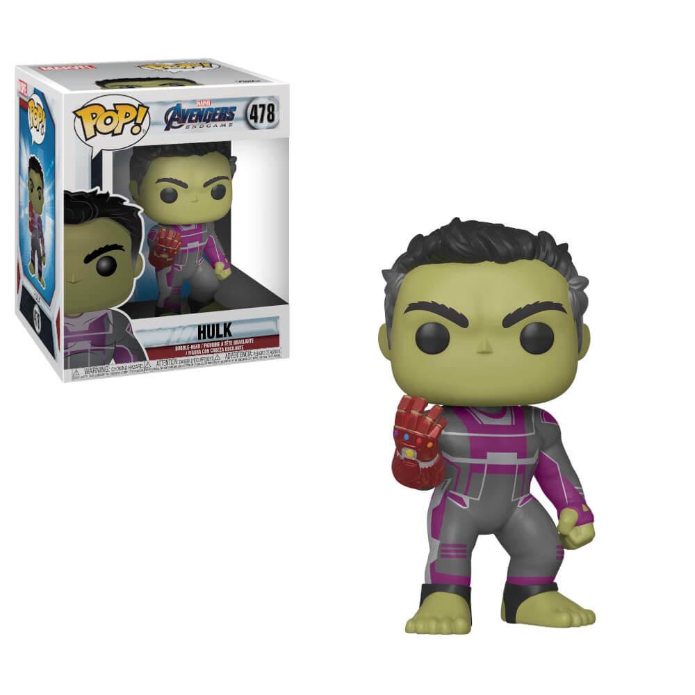 Avengers Enadgame Funko Pop 2019, Toy NEUF Marvel: Hulk 6