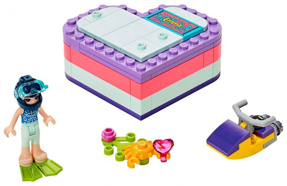 Emma's Summer Heart Box - LEGO Friends set 41385