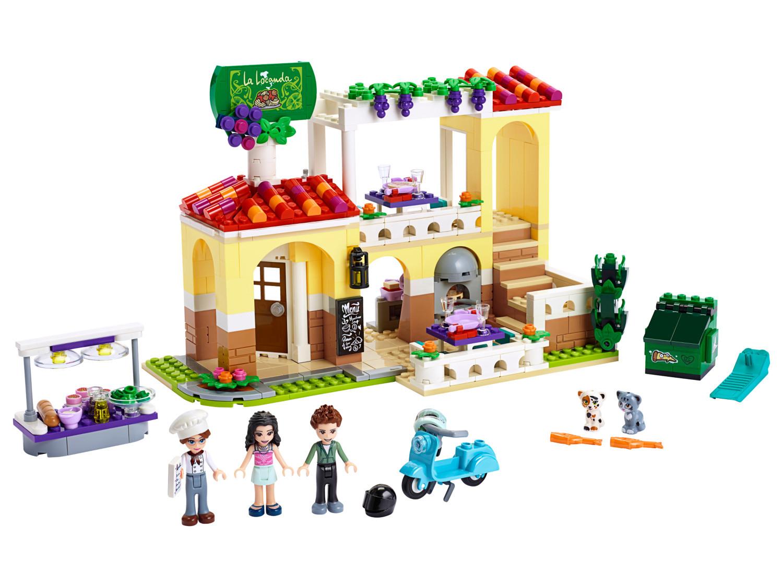 Calendrier Lego Friends 2019.Heartlake City Restaurant Lego Friends Set 41379