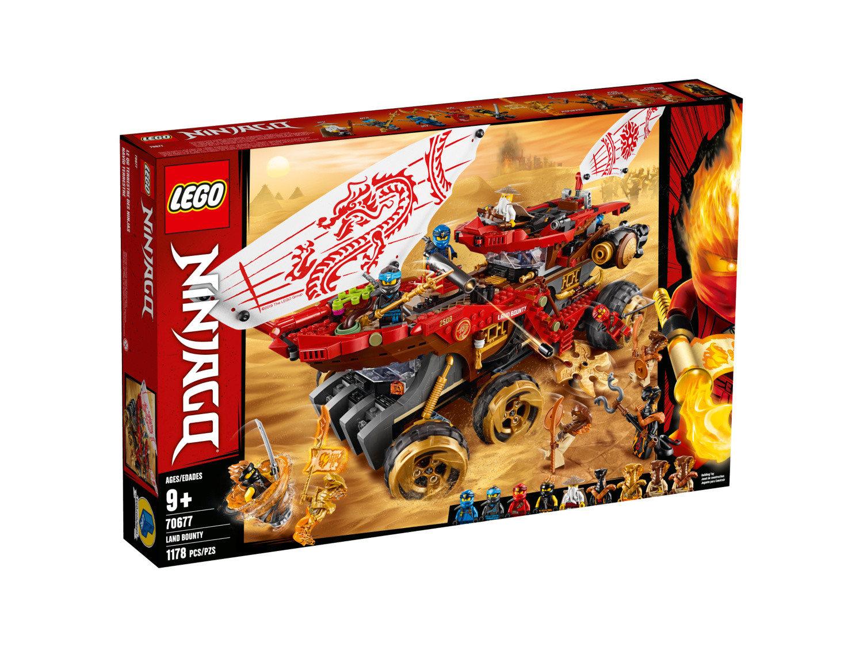 Land Bounty - LEGO Ninjago set 70677