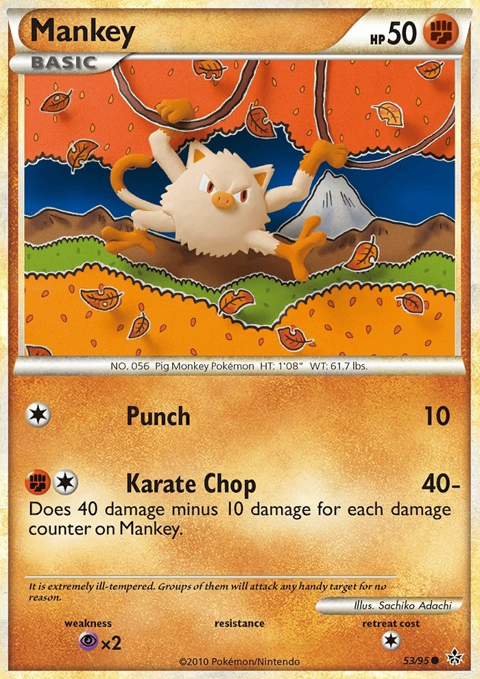 POKEMON CARDS *UNLEASHED* COMMON CARDS