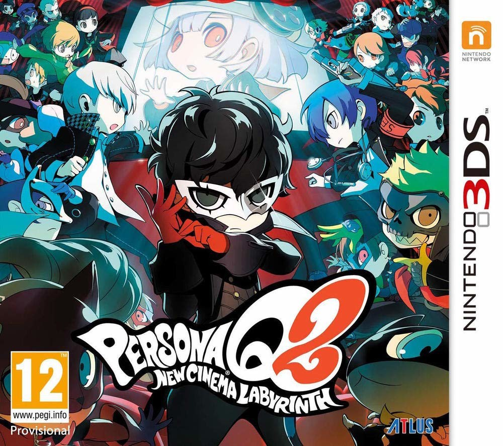 Persona Q 2 New Cinema Labyrinth - Nintendo 3DS game