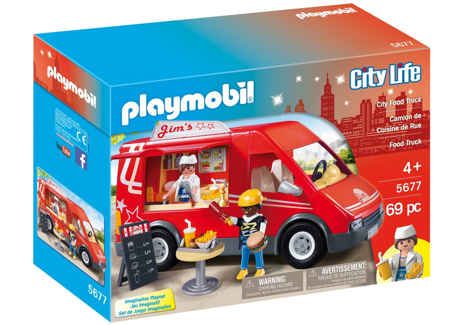 Jim S City Food Truck Playmobil In The City 5677
