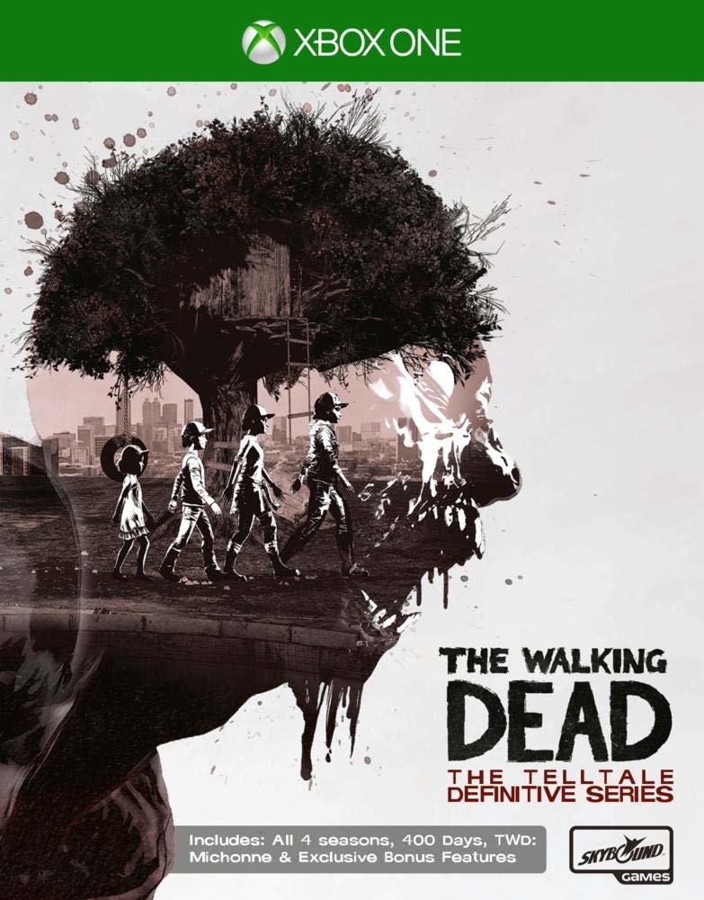 The Walking Dead Telltale Definitive Series Xbox One Game