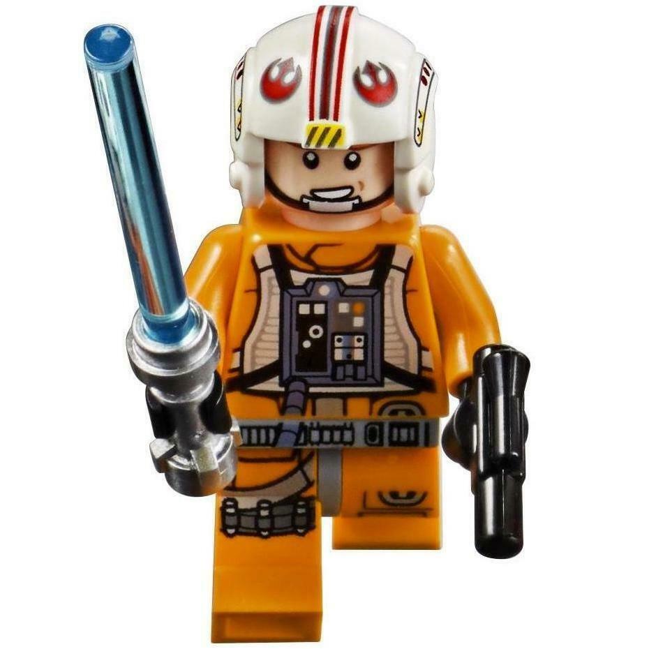 Luke Skywalker Lego Star Wars Minifigs 75235
