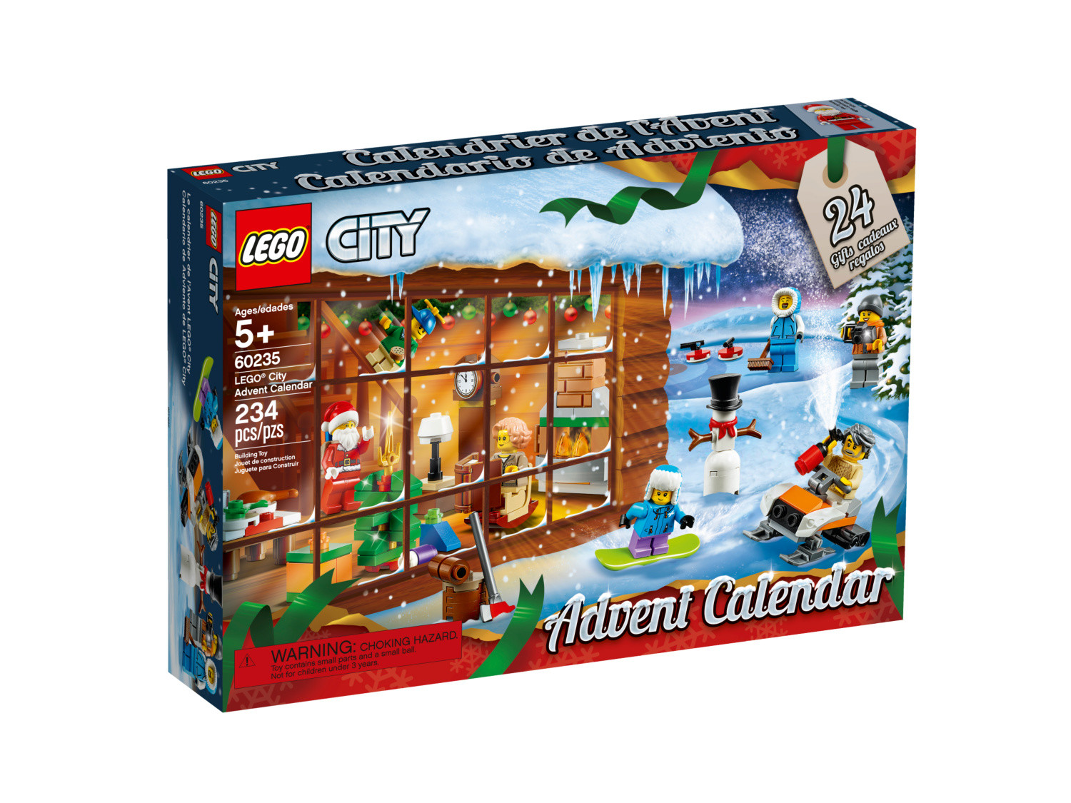 Calendrier Avent Lego Star Wars 2019.Advent Calendar 2019 Lego City Set 60235