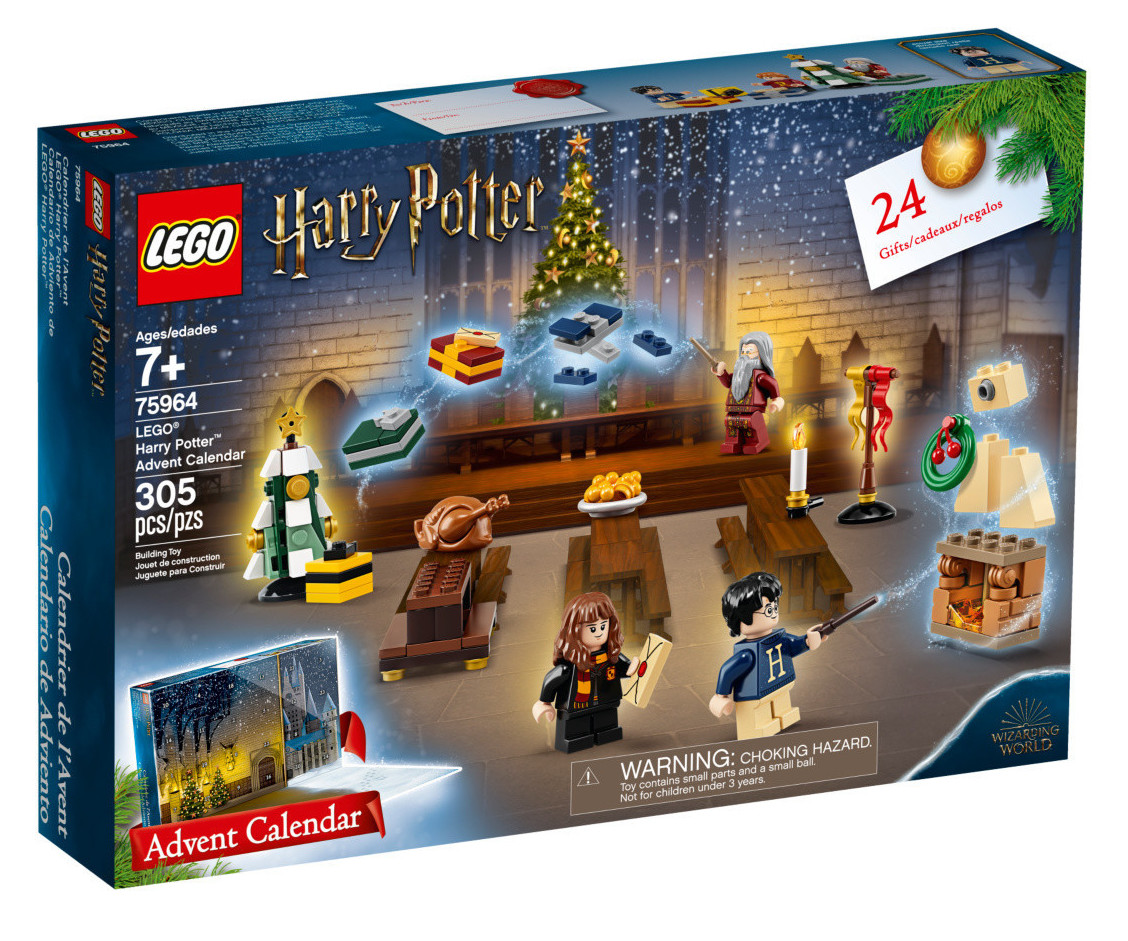 Calendrier De Lavent Harry Potter Funko Pop.Harry Potter Advent Calendar 2019 Lego Harry Potter Set 75964