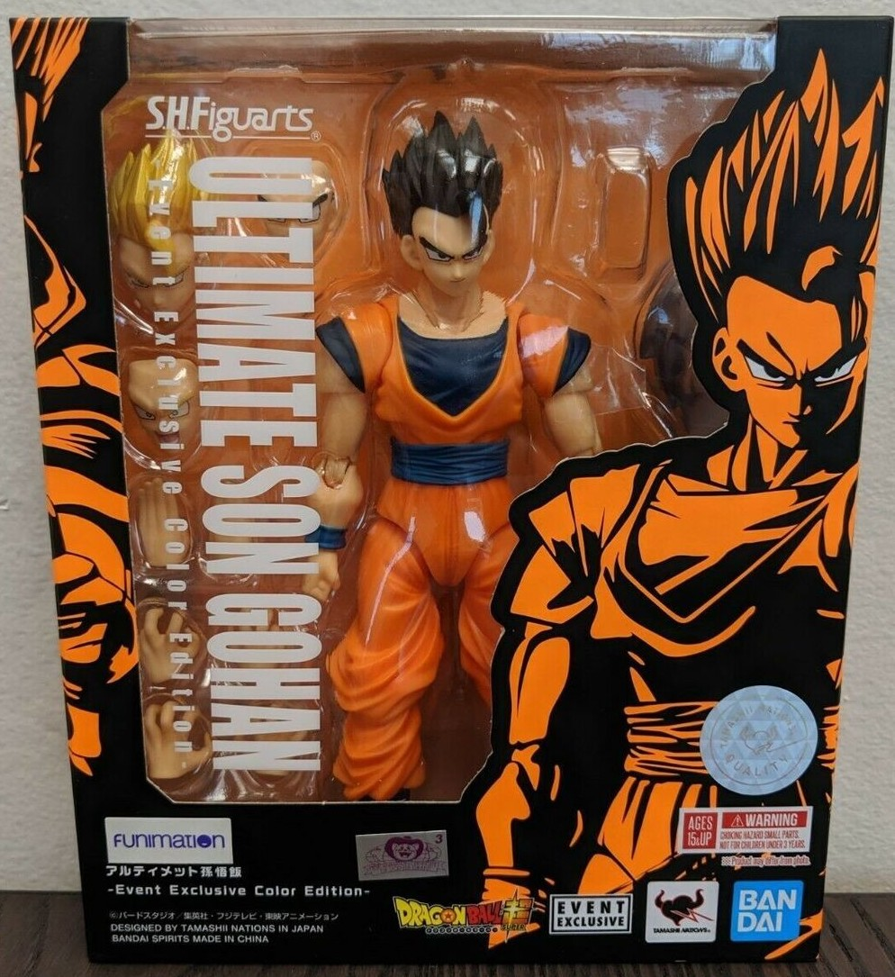Bandai 2019 Dragon Ball Z S.H.Figuarts Ultimate Son Gohan Event Exclusive Color