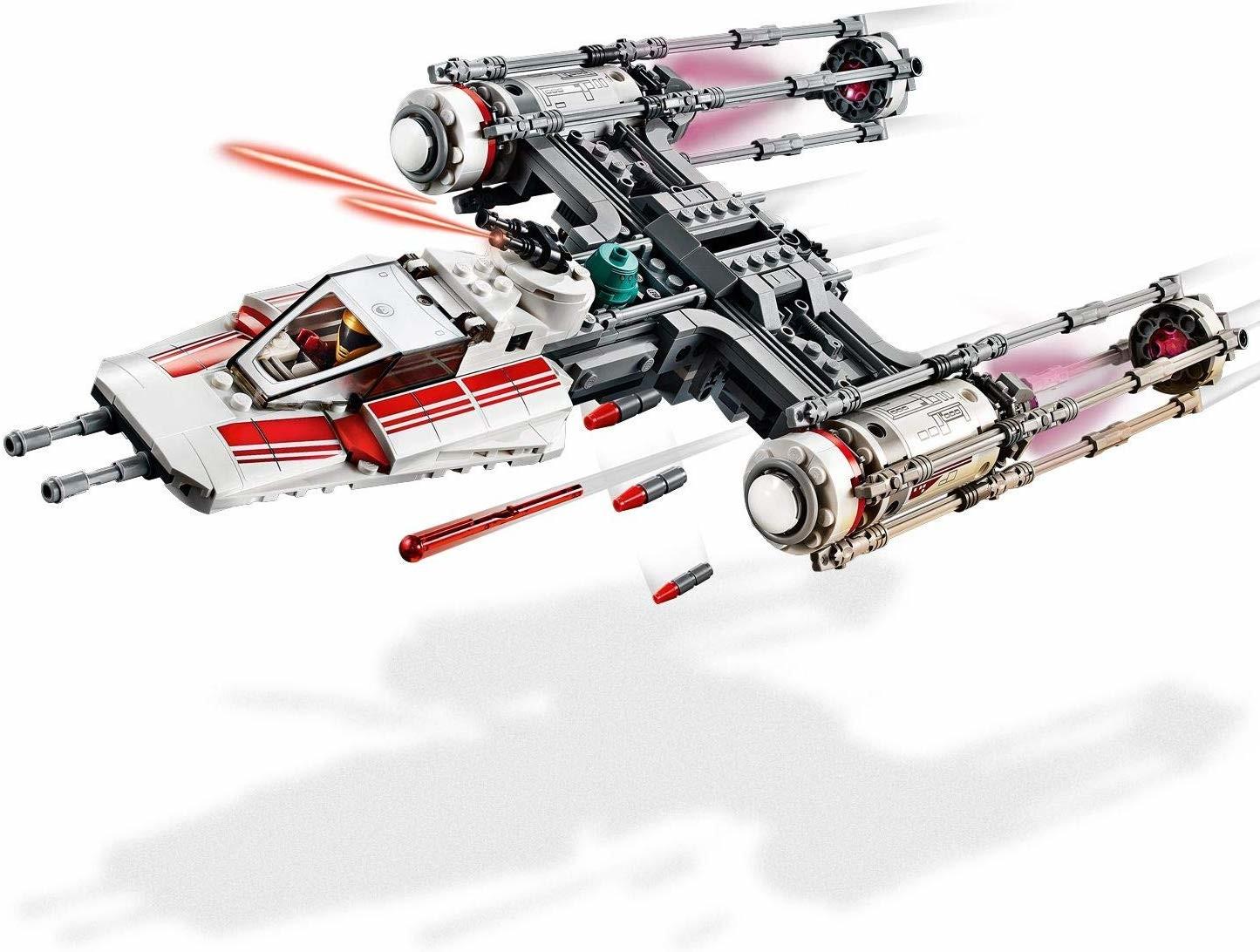 Resistance Y Wing Fighter Lego Star Wars Set 75249