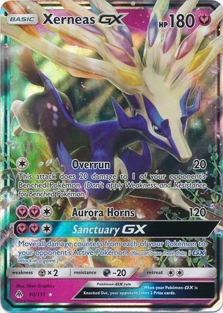 Carte pokemon Xerneas GX 90//131