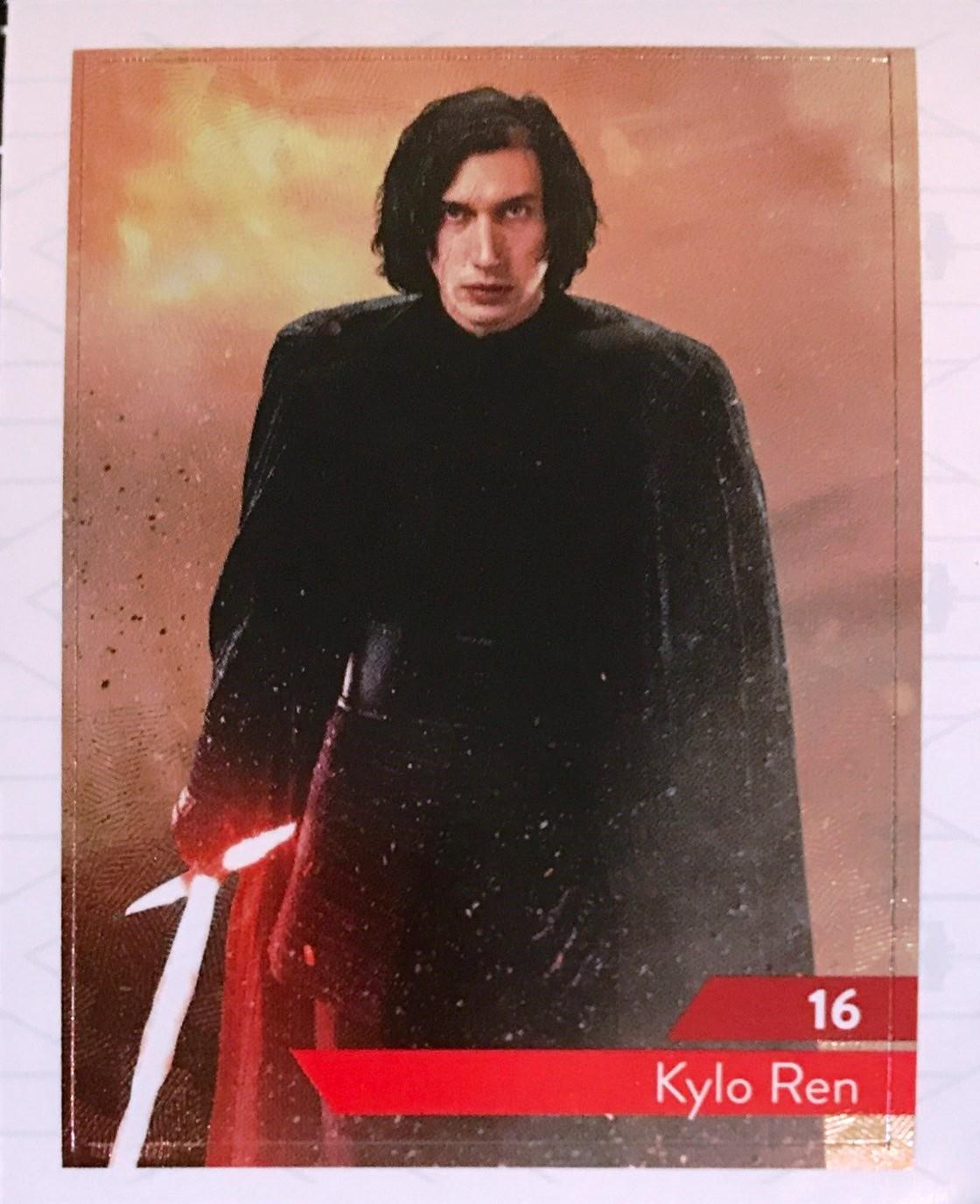 carte star wars leclerc 2020 Kylo Ren   carte 16 Star Wars   Maitriser la Force   Leclerc 2019