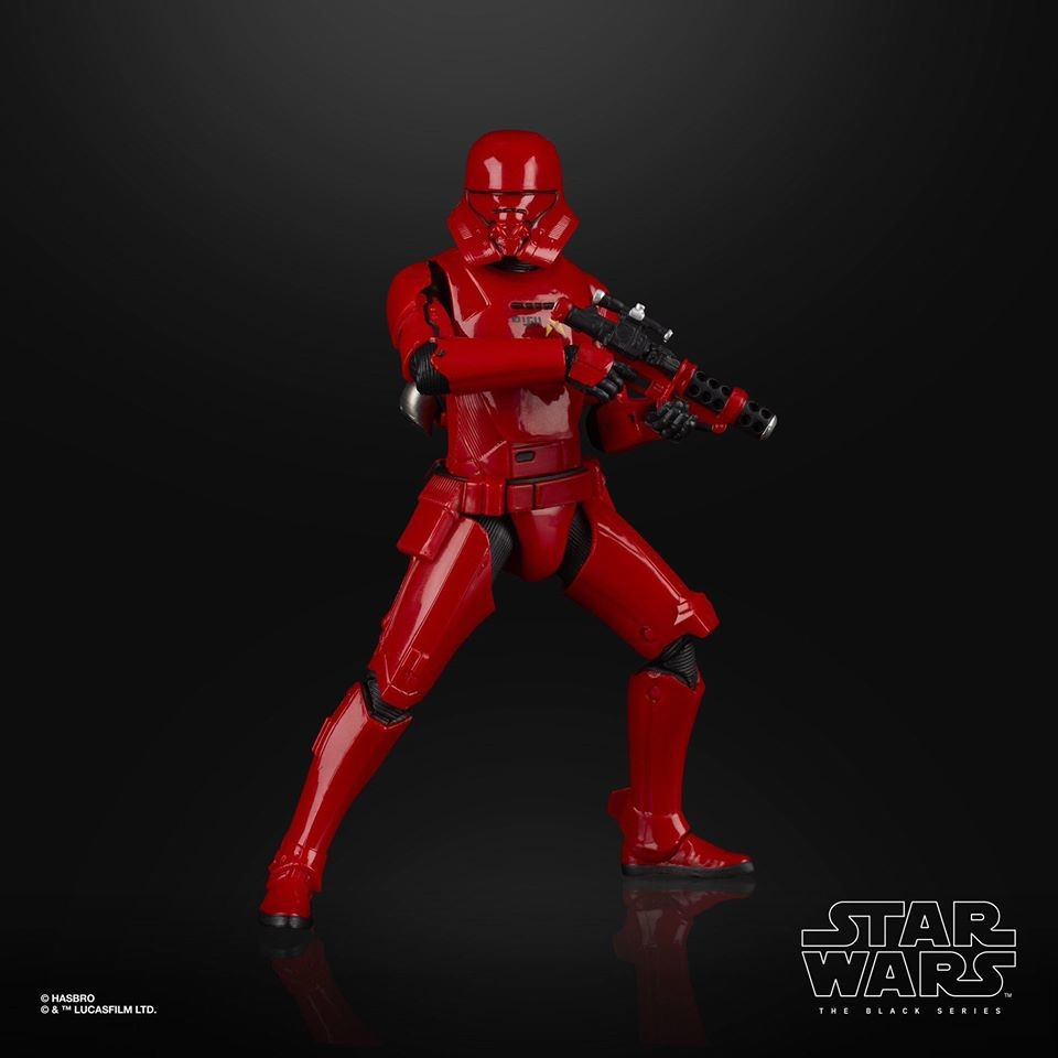Sith Jet Trooper Black Series Red 6 Inches Action Figure 106