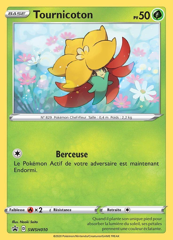 Tournicoton - carte Pokémon SWSH010 Cartes Promo Black ...