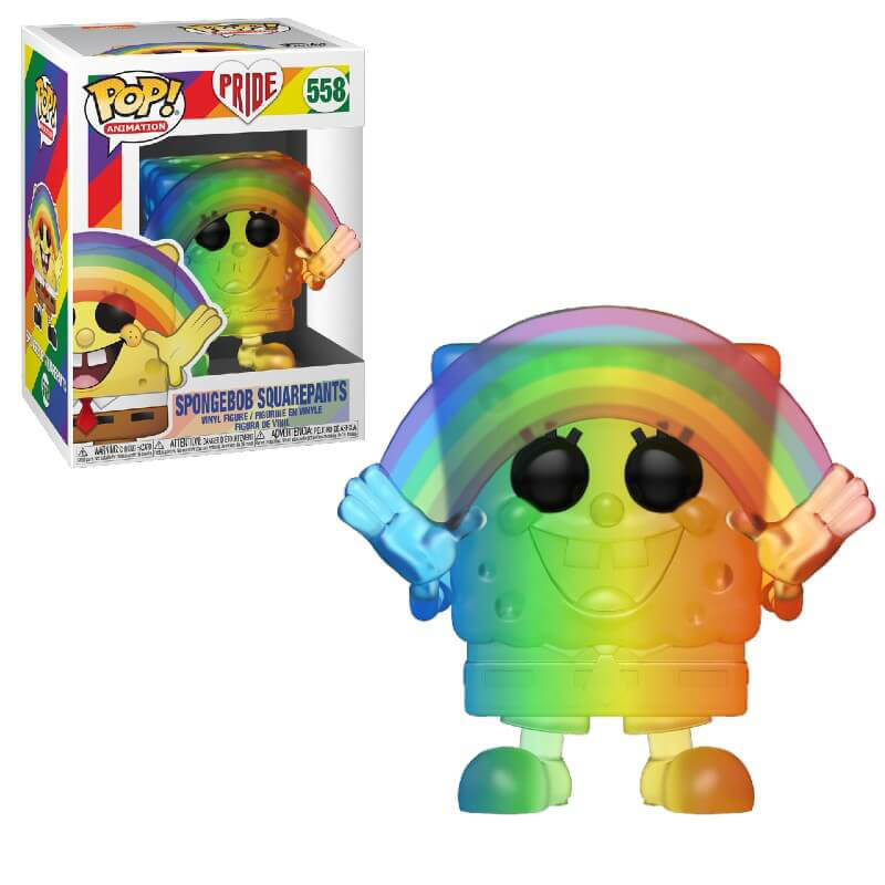 Funko POP ANIMAZIONE Spongebob Squarepants DIAMOND COLLECTION Glitter 558