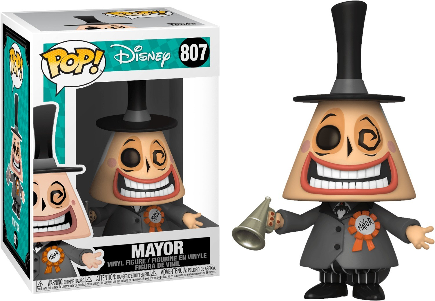 Shock ReAction Figure The Nightmare Before Christmas FunKo Free Shipping!