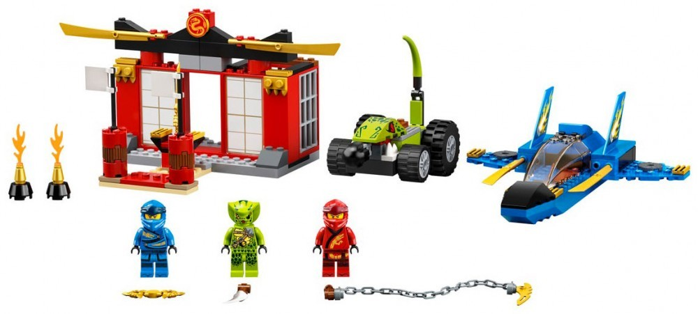 Storm Fighter Battle Lego Ninjago Set 71703